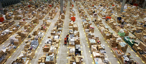 UK Amazon's Warehouses