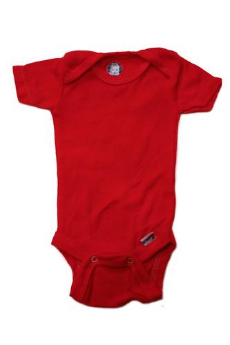onesie red