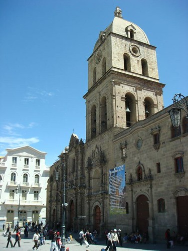 San Francisco Catedral, La Paz.