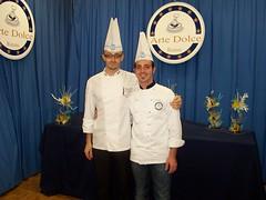 Rossano Vinciarelli e Mario Ragona Corso di zucchero Artistico