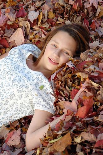 tween in autumn