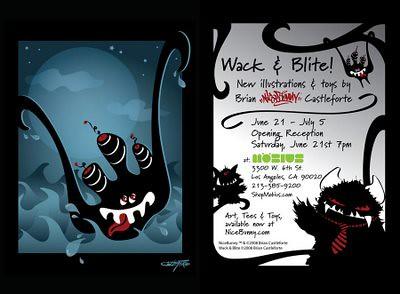 Wack & Blite Postcard