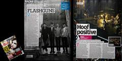 NME Tearsheet // FlashGuns & Foals (TimothyCochrane.com) Tags: new magazine tim brighton musical cutting sheet express timothy tear cure nme cochrane foals flashguns