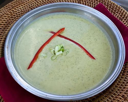 Creamy Zucchini Soup (2)