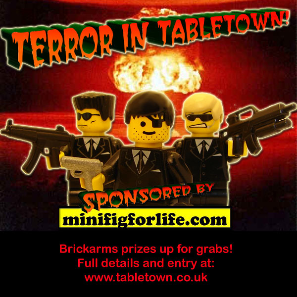 Terror in Tabletown - COMPETITION by Doctor Sinister