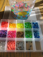 Sorting Perler Beads (Kid's Birthday Parties) Tags: kids beads crafts kidscrafts fusebeads hamabeads perlerbeads craftorganizer sortingbeads sortingperlerbeads