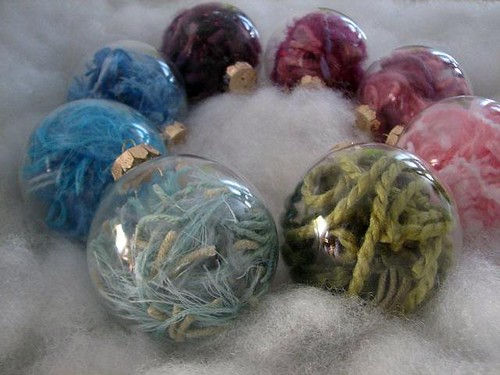 yarn ornaments 1