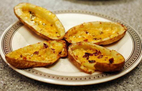 Mmm... potato skins
