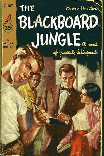 Blackboard Jungle book cover
