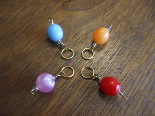 stitch markers on CraftStylish