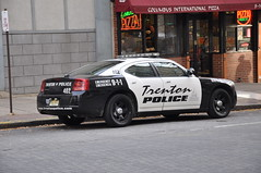 Trenton Police  Dodge Charger RMP (Triborough) Tags: newjersey nj police policecar dodge charger mercercounty trenton dodgecharger rmp trentonpolice