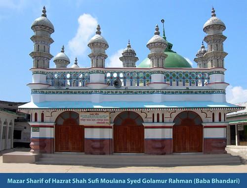 Mazar Sharif of Hazrat Shah Sufi Moulana Syed Golamur Rahman