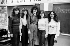 French party, GWHS, 1982-1983 (xnedski) Tags: school philadelphia george washington high 1982 80s hp5 1983 northeast ilford gwhs