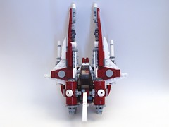 ZR-15A Widowmaker (peterlmorris) Tags: toy fighter lego moc starfighter gradius vicviper novvember illyrianguard