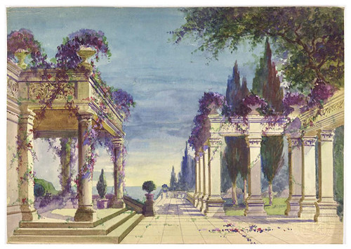 01- Jardines-Courtyard with Greek colonnade