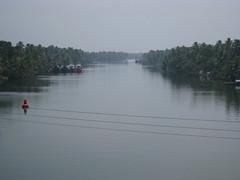 From bridge by ashram - Kerela