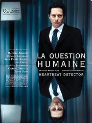 La cuestión humana cartel película