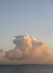 L'ile d'Aix et son nuage (of-etoile1) Tags: sunset sea sky cloud mer ile iland ciel nuage couchant