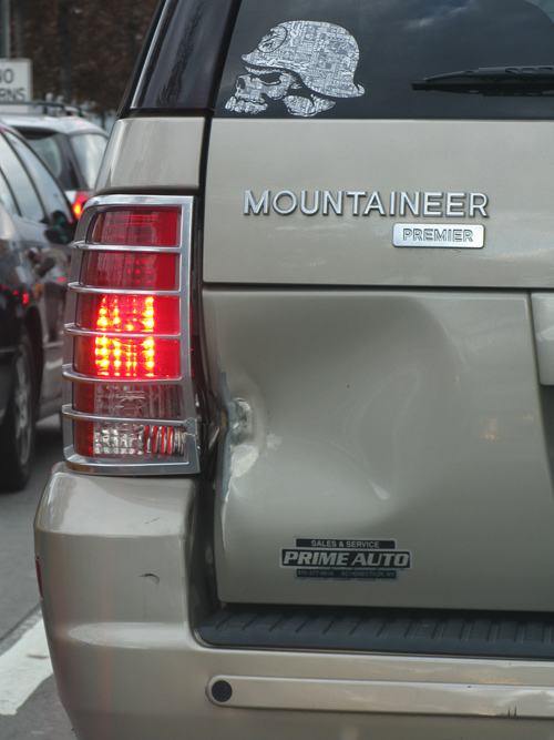 MOUNTAINEER, bad side, Manhattan, NYC