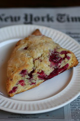 Raspberry-ginger scone 3
