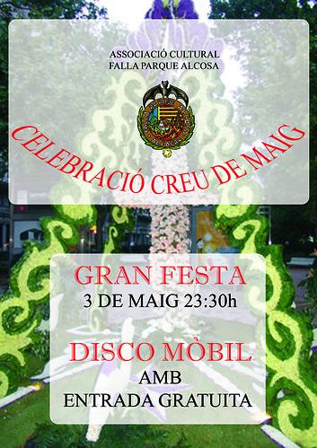 Cartel Cruz de Mayo 08