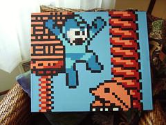 Megaman (LazyBum36) Tags: pixel megaman metool
