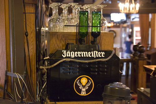 how to clean a jagermeister machine