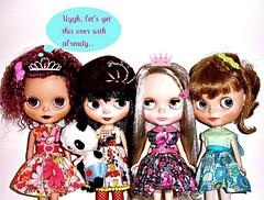 My dolly fambly :)