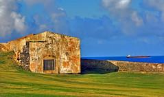 HDR El Morro Annex (Keith Anthony Ng) Tags: old puerto san juan rico caribbean