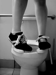 kicks (chalupabatman) Tags: bathroom kicks hbm trp dontslip benchmonday