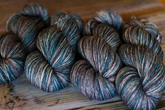 'storm' on superwash BFL