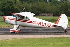 G-BULO (QSY on-route) Tags: club fly 55 th aero in lincon sturgate egcs gbulo 04062011