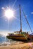 Boat Sunset (cstout21) Tags: travel chris vacation usa beach water landscape boats hawaii us sand colorful waves unitedstates waikiki oahu pacificocean honolulu aloha hdr highdynamicrange stout ngoc canonxs stoutandstout northamera