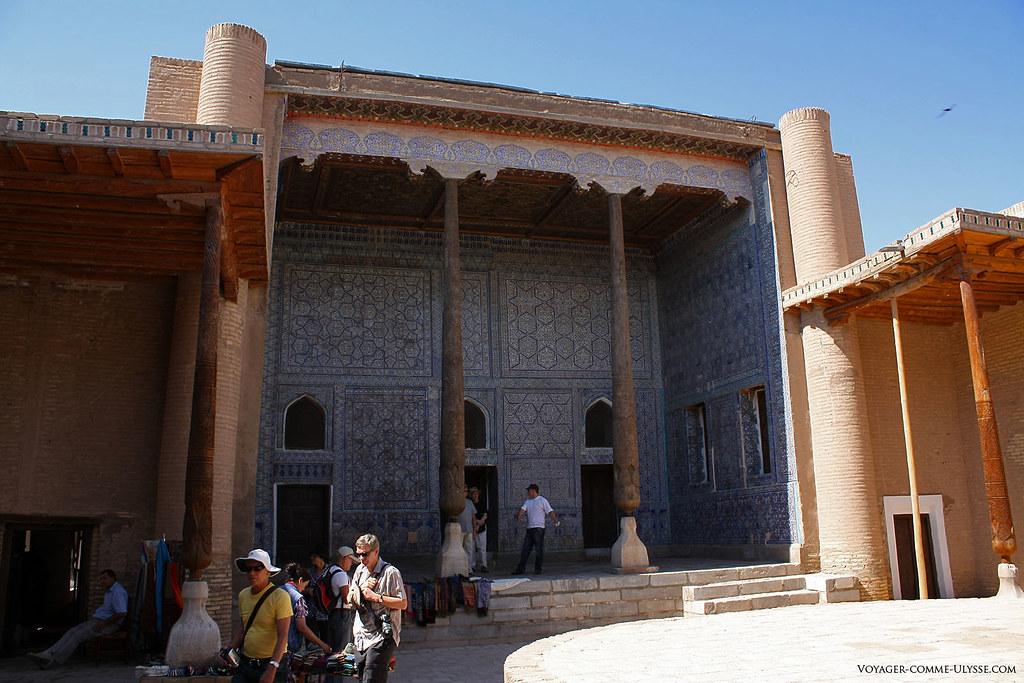 Iwan de Kounia Ark, palais de Khiva