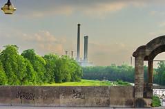 Munich München die Isar von Wittelsbacherbrücke 13 (paspog) Tags: munich münchen isar wittelsbacherbrücke estremità