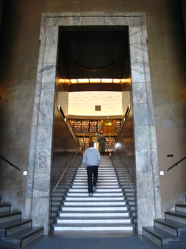 Stockholm Public Library - Entrance