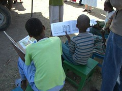 Bringing books to Ethiopian villages