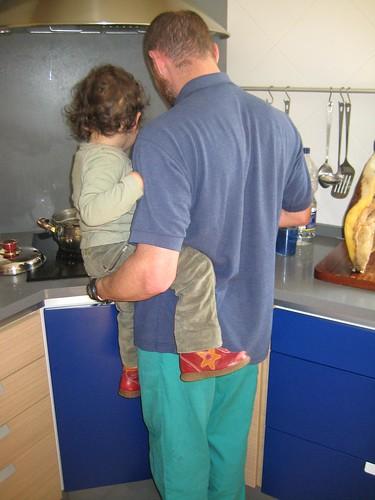 A cociña grande