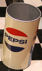 "Restored Metal Pepsi Trashcan for sale • <a style=""font-size:0.8em;"" href=""http://www.flickr.com/photos/85572005@N00/2311260939/"" target=""_blank"">View on Flickr</a>"