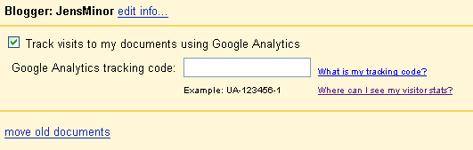 Analytics Docs Integration