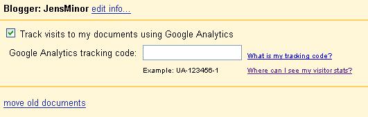 Analytics aktivieren