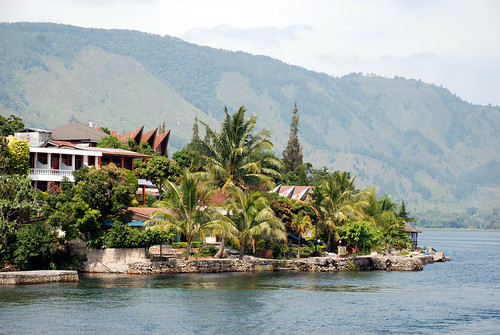 The Shores of Lake Toba