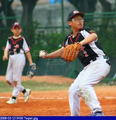 Baseball: Taipei Little League Game 15 (Badger 23) Tags: sports boys kids youth children baseball little taiwan taipei formosa  2008  taipeh esporte   honkbal littleleague  bisbol  beisebol   republicofchina   xinshengpark    baseboll   taiwn    tapeh    20080313
