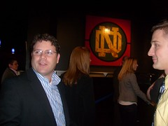 Sean Astin and Chelsea Clinton Visit ND (starz9987) Tags: chelsea clinton sean notre dame astin