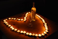 Romance (Or Hiltch) Tags: light love night fire candles heart wine romance valentines friday 50 moran fifty orhiltch