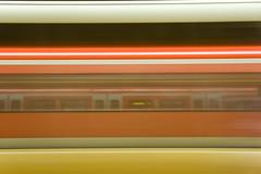 Schwabstrasse - Train Arriving