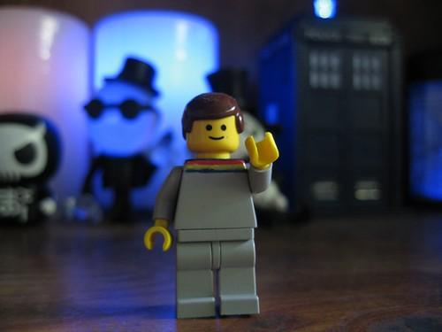 Yeah, I have a custom LEGO Wesley figure
