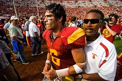 USC quarterback Mark Sanchez (Eric Wolfe) Tags: california usa college sports losangeles football unitedstates quarterback universities usctrojans original:filename=200710130726jpg