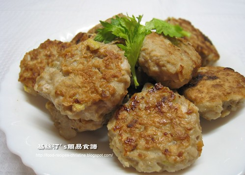 香煎藕餅 Pan-fried Lotus with Minced Pork