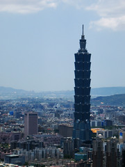 image of taipei 101, tallest skyscaper in world